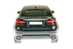 SUV Auto-Rückseitenansicht Stockbilder