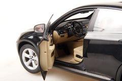 SUV auto zijaanzicht Royalty-vrije Stock Afbeeldingen