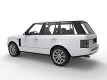 SUV-Autoperspektive Lizenzfreie Stockfotografie