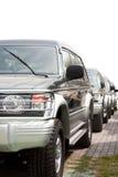 SUV Autos lizenzfreie stockbilder