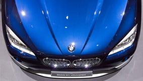 SUV BMW X1 xDrive bil 18d Arkivbilder