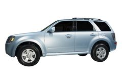 SUV brandnew Imagem de Stock Royalty Free