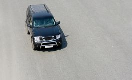 Suv car of. Black japanese off-roader suv speed from my luxury cars series Stock Photography