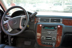 SUV car interior Stock Photos