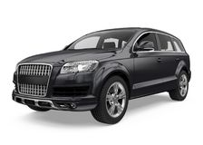 SUV Car Isolated Royalty Free Stock Image