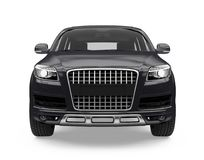 SUV Car Isolated Stock Image
