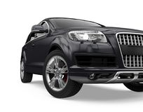 SUV Car Isolated Stock Photography