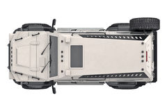 Suv car, top view Royalty Free Stock Photos