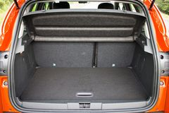 SUV Car Trunk Royalty Free Stock Images