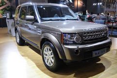 Suv de découverte de Land Rover   Photo stock