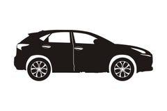 Suv do carro do ícone ilustração do vetor