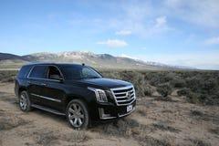 suv Escalade de Cadillac photographie stock