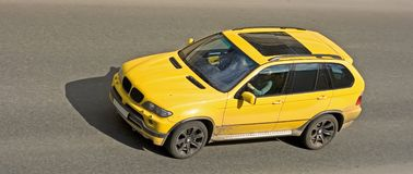 Suv full-size car of. My cars series Royalty Free Stock Photo