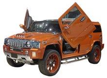 SUV getrennt Stockbild