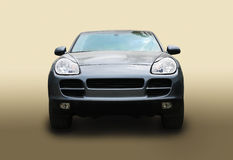 SUV on gradient background Stock Images