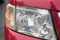 SUV head light Royalty Free Stock Photos