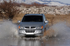 Suv ice-breaker Stock Photos