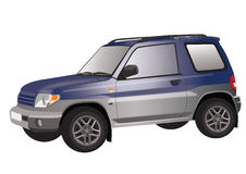 SUV Illustration Royalty Free Stock Photos