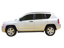 SUV isolated Royalty Free Stock Photography