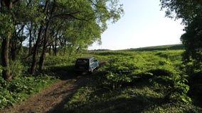 SUV Lada Niva stock video