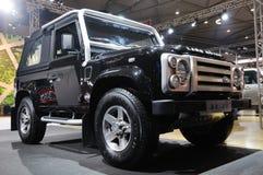 suv Land Rover защитника Стоковые Изображения RF