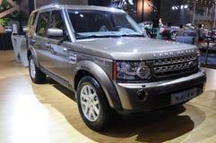 suv Land Rover открытия стоковое фото