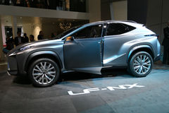 SUV Lexus LF-NX concept Royalty Free Stock Photos