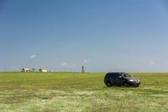 SUV Mitsubishi Pajero Sport. Kalmykia region, Russia. 04-16-2016 Stock Image