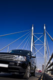 SUV on Nelson Mandela Bridge Stock Photos