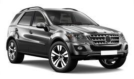 SUV noir Images stock