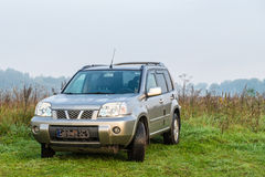 Suv off road Royalty Free Stock Photography