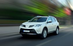 SUV prompt Photographie stock