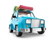 SUV przygody kreskówka zdjęcia stock