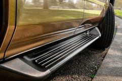 SUV Running Board Royalty Free Stock Photography