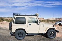 SUV seen in Utah Royalty Free Stock Photo