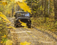 SUV UAZ Images libres de droits