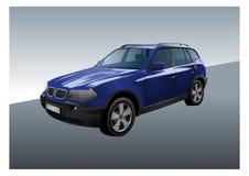 SUV Vektor Lizenzfreie Stockbilder