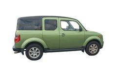 SUV verde Fotografía de archivo libre de regalías