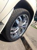 SUV wheel Royalty Free Stock Image