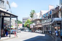 Suva Fiji. Street view of Suva Fiji on a hot day royalty free stock image