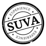Suva stamp rubber grunge. Suva stamp. Grunge design with dust scratches. Effects can be easily removed for a clean, crisp look. Color is easily changed. rubber Stock Image
