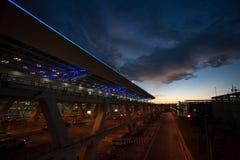 Suvannabhum lotnisko, Bangkok, Tajlandia Zdjęcia Stock
