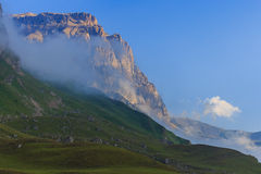 Suvar, Azerbaijan. Beautiful mountains in Suvar Azerbaijan stock photos