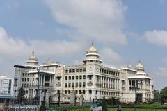 Suvarna Vidhana Soudha, Bangalore imagen de archivo libre de regalías