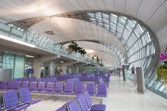 Suvarnabhumi机场 免版税库存图片