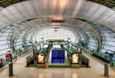 Suvarnabhumi机场 免版税图库摄影