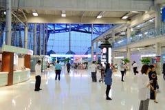 Suvarnabhumi机场 免版税库存照片