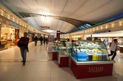 Suvarnabhumi Airport. BANGKOK - MARCH 2 :The main concourse of Suvarnabhumi Airport , designed by Helmut Jahn is the world's third largest single-building Royalty Free Stock Photo