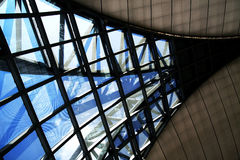 Suvarnabhumi airport architecture Royalty Free Stock Photography