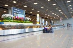 Suvarnabhumi Airport baggage claim area Stock Image